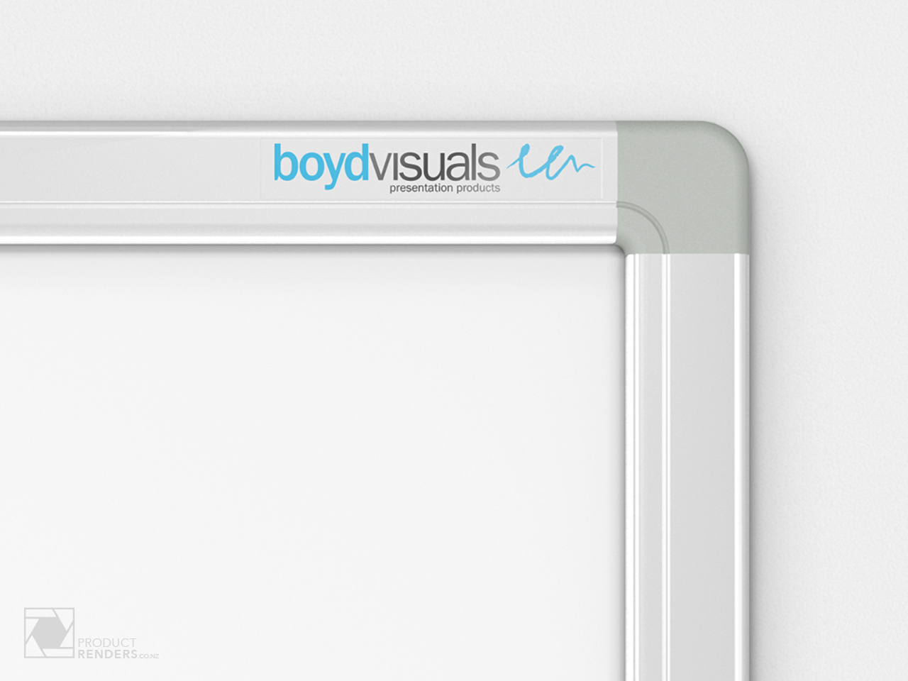 3D render of a Boyd Visual's whiteboard