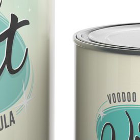 3D render of Vintage Paint tins - preview image