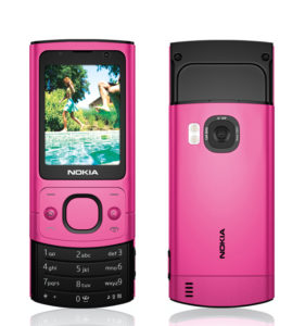 3D render of a mobile phone - Nokia6700